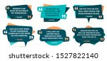 quote remark frames. gandhi... | Shutterstock . vector #1527822140