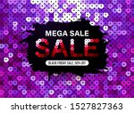 modern black friday banner with ... | Shutterstock .eps vector #1527827363