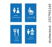 blue sign in icons design for... | Shutterstock .eps vector #1527901160