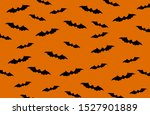 haloween background with black...   Shutterstock .eps vector #1527901889