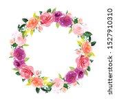 flower clip art for wedding... | Shutterstock . vector #1527910310