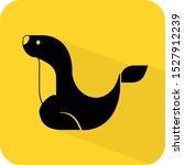 Sea Lion Logo. Walrus Or Otter. ...