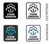 power steam generator  cleaning ... | Shutterstock .eps vector #1527927833