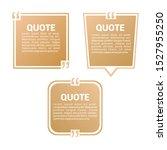 quote templet design minimalis... | Shutterstock .eps vector #1527955250