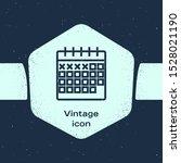 grunge line calendar icon...