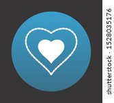 heart love icon for your design ... | Shutterstock . vector #1528035176