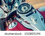 Motorcycle Detail With Gasolin...
