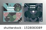 set of design templates for... | Shutterstock .eps vector #1528083089
