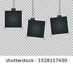 abstract photos on transparent  ... | Shutterstock .eps vector #1528117430
