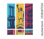 New York Illustration With...