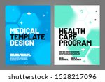 template design with abstract... | Shutterstock .eps vector #1528217096