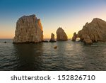 beautiful land's end in cabo... | Shutterstock . vector #152826710