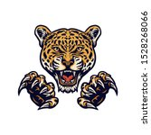 Jaguars And Claws Illustration...