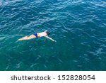 snorkeling  to see coral and... | Shutterstock . vector #152828054