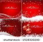 christmas design card art... | Shutterstock .eps vector #1528320200