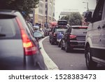 Heavy Congested Traffic On A...