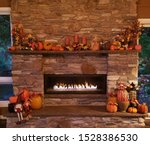 Warm And Cozy Large  Rustic...
