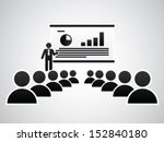 the presentation | Shutterstock .eps vector #152840180