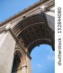arc de triomphe in paris | Shutterstock . vector #152844080