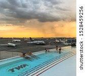 Twa Hotel Airport Rooftop Pool...