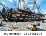 HMS Victory the Admiral Horatio Nelson