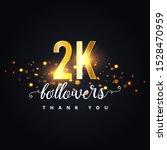 2k Followers Thank You Design....