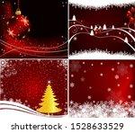 christmas design card art... | Shutterstock .eps vector #1528633529