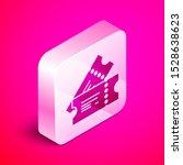 isometric cinema ticket icon... | Shutterstock .eps vector #1528638623