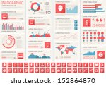 it industry infographic elements | Shutterstock .eps vector #152864870