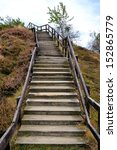 Stairs At The Devil\'s Wall In...