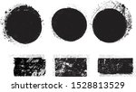grunge post stamps collection ... | Shutterstock .eps vector #1528813529