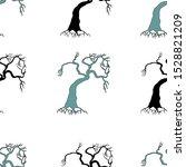 hand drawn seamless pattern... | Shutterstock .eps vector #1528821209