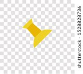 push pin icon sign and symbol.... | Shutterstock .eps vector #1528828736