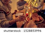 merry christmas and happy new... | Shutterstock . vector #1528853996