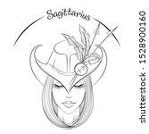 zodiac. vector illustration of... | Shutterstock .eps vector #1528900160