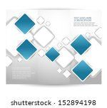 brochure design | Shutterstock .eps vector #152894198
