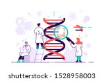 genetic dna science vector...