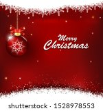 christmas background with... | Shutterstock .eps vector #1528978553