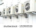 air conditioning compressor. | Shutterstock . vector #152905520