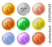 vector star medals with text... | Shutterstock .eps vector #1529105429