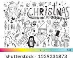 vector illustration of doodle... | Shutterstock .eps vector #1529231873