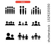 family icon isolated sign... | Shutterstock .eps vector #1529235350
