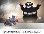 businessman missing important... | Shutterstock . vector #1529284610