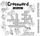 crosswords puzzle game of...   Shutterstock .eps vector #1529327030
