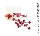 merry christmas and new year...   Shutterstock .eps vector #1529409983