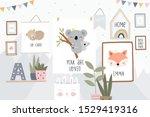 cute cartoon character mother... | Shutterstock .eps vector #1529419316