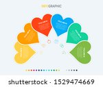 timeline infographic design... | Shutterstock .eps vector #1529474669
