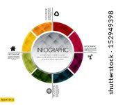 modern design template   can be ... | Shutterstock .eps vector #152949398