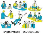 vector illustration character... | Shutterstock .eps vector #1529508689