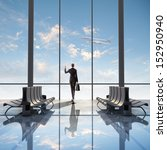 image of woman in airport... | Shutterstock . vector #152950940
